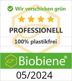 Biobiene Umweltsiegel
