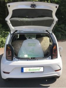 umweltfreundlich unterwegs biobiene mit dem neuen e load up von vw ausgestattet biobiene. Black Bedroom Furniture Sets. Home Design Ideas