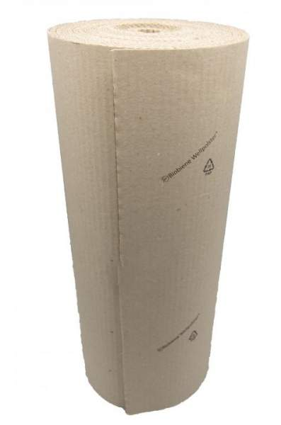 Biobiene Wellpolster® Kurzrolle 40cm x 5m 100% Recyclingpapier