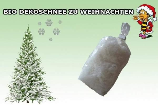 Bio Dekoschnee Weihnachtsdeko
