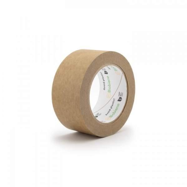 Papier-Packband Klebeband 50mm x 50m Braun 1 Rolle