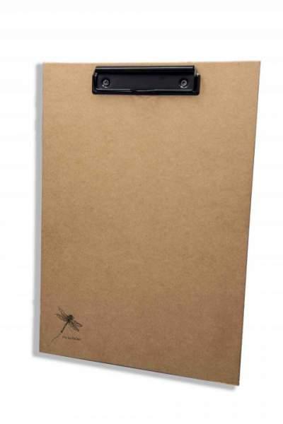 Umweltfreundliches Klemmbrett aus extra stabilem Karton, plastikfrei