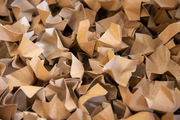 Füll-und Polsterchips aus Papier