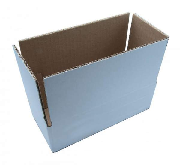 Stabiler Faltkarton 198x87x60mm zweiwellig Weiß