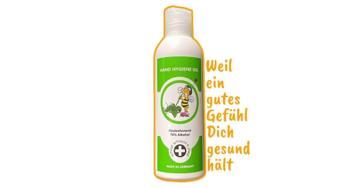 Hygiene Hand-Gel für Unterwqegs