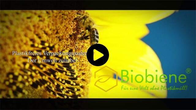 Weg vom Plastikmüll  Plastikfrei verpacken mit Verpackungsmaterial von Biobiene®