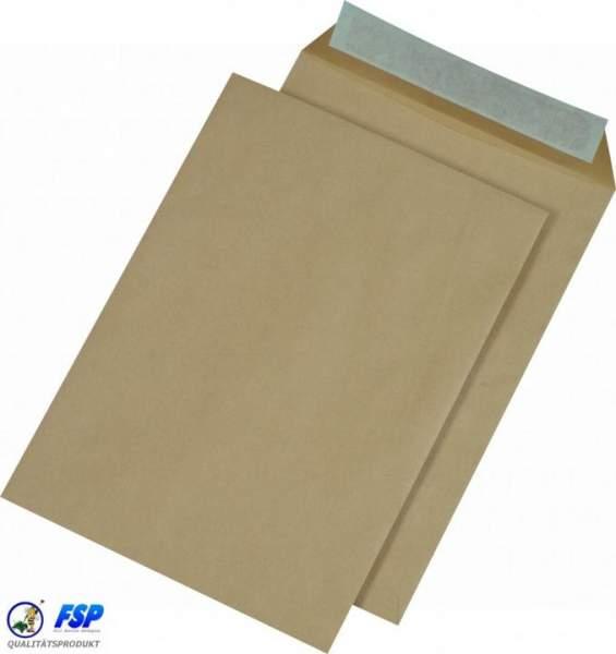Braune DIN C4 229x324mm Versandtasche ohne Fenster hk (250 Stück)