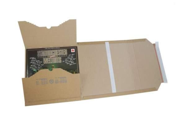 Multiwell Karton 320x320x10-80mm haftklebend braun
