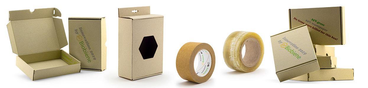 Plastikfreies kompostierbares Biobiene Verpackungsmaterial
