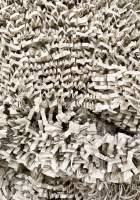 Papierwolle aus Graspapier dunkel