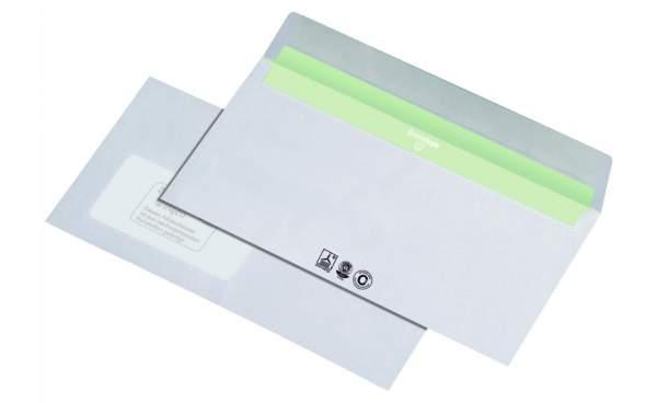Briefumschlag DIN C6/5 Envirelope® 114x229mm CO²-neutral nk mit Fenster 1000Stk. (448033A)