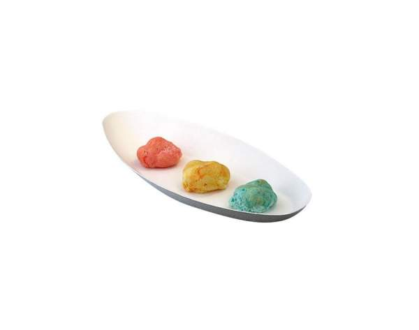 Design Tablett aus Cellulose (24 cm x 11 cm x 2 cm)