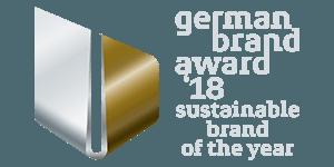 Wir haben den German Brand Award 2018 gewonnen