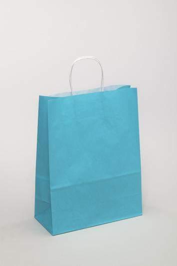 Hellblaue Tragetasche aus Papier online günstig bestellen
