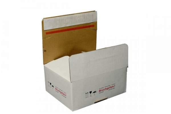 Bedruckter Karton PBB6 Vorsicht Bruchgefahr