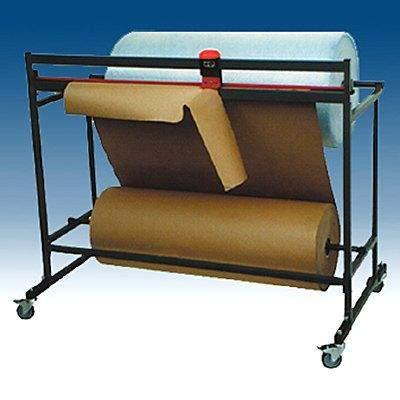 Schneidständer für Folien Pappe Papier Schnittbreite 1250mm fahrbar waagerecht 2 Rollen