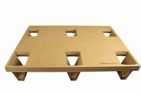 Umweltfreundliche Paletten - Hartfaser-Paletten 600x800 mm