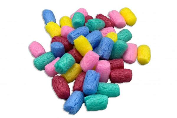 5 Farben Mixtur Verpackungschips Biobiene® Small kompostierbar
