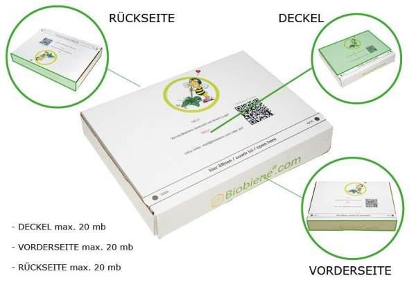 Druckbare Kartonflächen im Digitaldruck