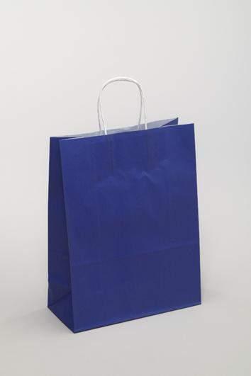Einkaufstaschen aus Papier in Blau kaufen
