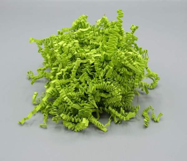 Nachhaltige Wolle aus Papier Limetten Grün