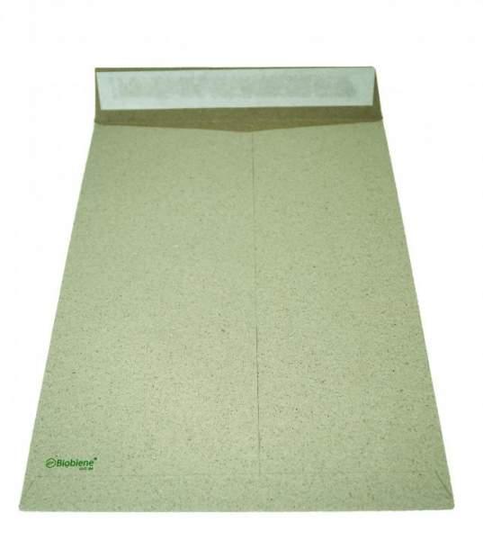 Versandtasche aus Graspapier