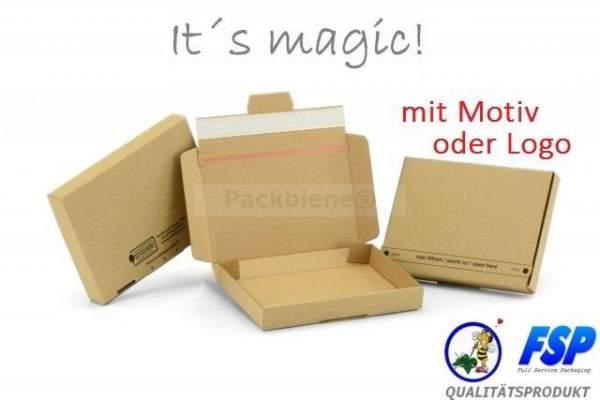 Kartons mit eigenem Logo bedrucken