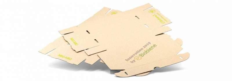 Naturebox Graskartons Verpackungsmaterial von der Grünen Wiese