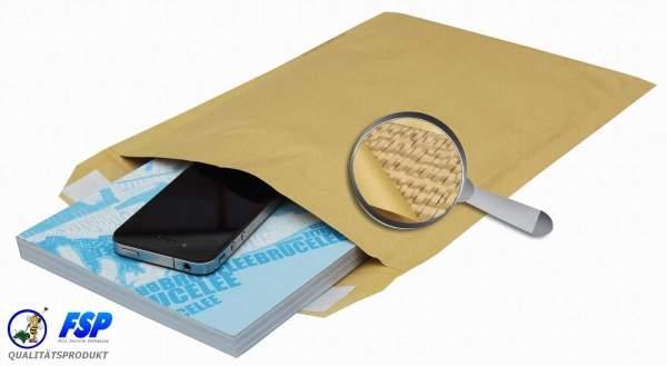 Papierpolstertasche 165x175mm braun