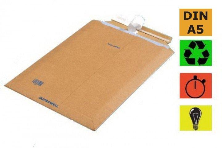 suprawell versandtaschen sw20 aus karton plastikfreies. Black Bedroom Furniture Sets. Home Design Ideas