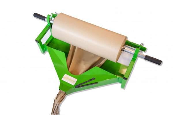 Manuell Packpapier Abroller 600mm grün