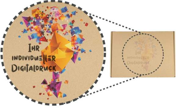 Kartons mit Ihrem Logo 350x250x50mm (MB1-B)