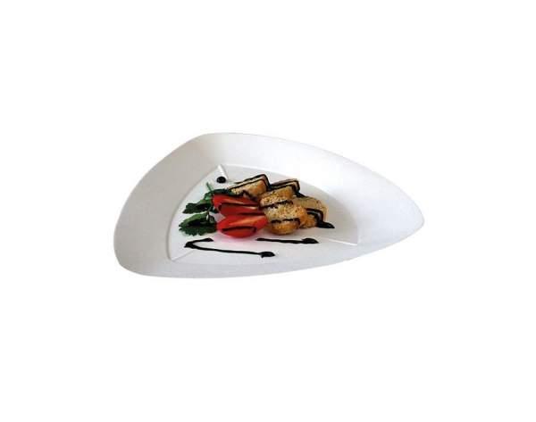 Design Teller aus Cellulose (24 cm x 21,5 cm x 1,5 cm)