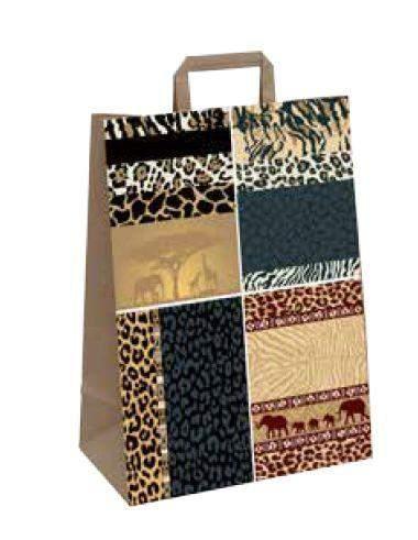 Afrika-Tragetasche aus Papier online bestellen