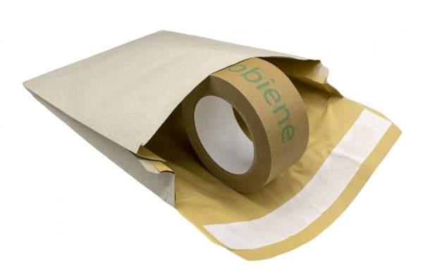 Graspapiertasche mit Polsterung