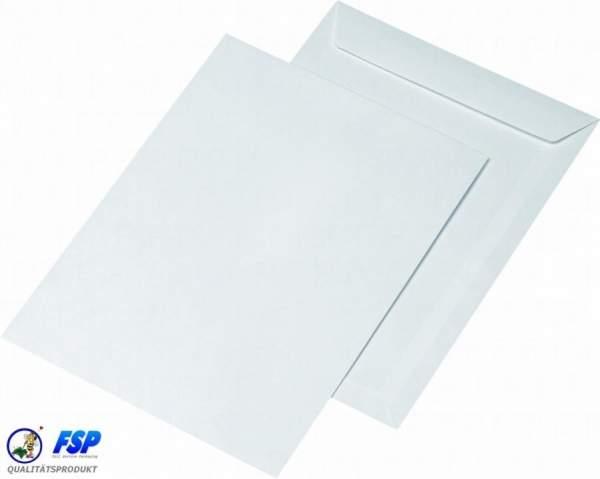 Weiße DIN C4 229x324mm Versandtaschen / Umschläge ohne Fenster hk (250 Stück)