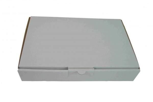 Maxibriefkarton (MB2A-W) 240x160x45mm einwellig Weiß