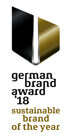 Gewinner german brand award 2018 Sustainable Brand of the Year